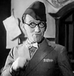 Arthur Askey in The Ghost Train (1941)